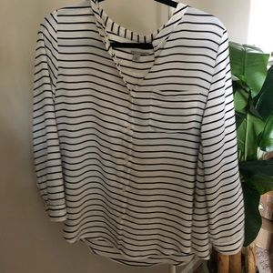 Halogen striped blouse